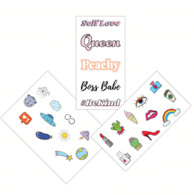 The Big Bottle Co Sticker Sheet : Collection Pack